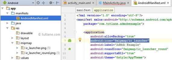 Android Change App Icon - Tutlane