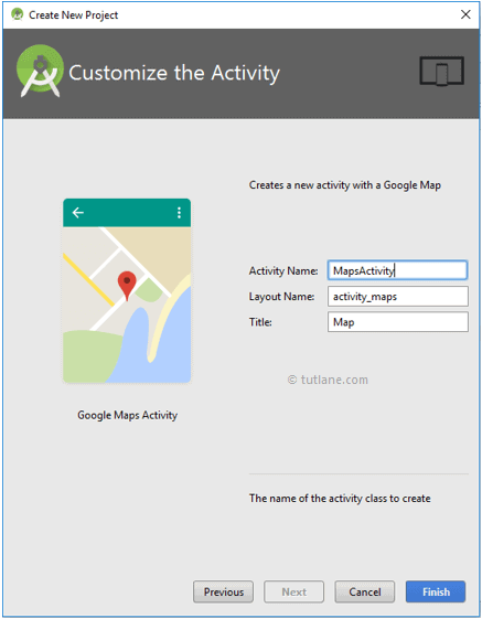 Android Customize Google Maps Activity