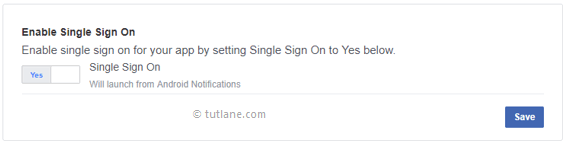 Android Integrate Facebook - Enable Single Sign On for our Android App