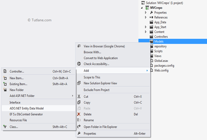 CRUD Operations Using Repository Pattern In AspNet MVC With Example Mesmerizing C Repository Pattern