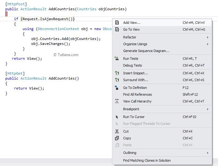 Ajax Helpers in Asp Net MVC with Examples - Tutlane