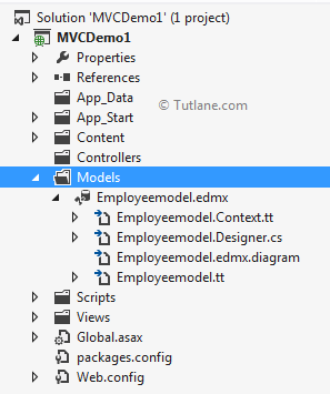 After adding ado.net connection in asp.net mvc application