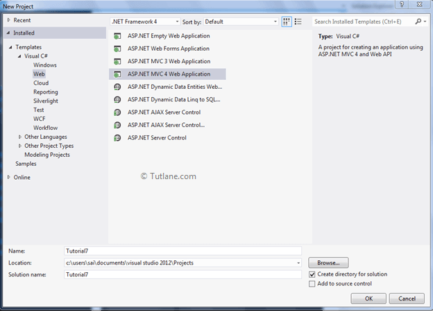 CRUD Operations using ADO Net Entity Framework in Asp Net