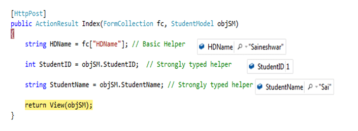 Create or Use Hidden Fields in Asp Net MVC with HTML Helpers