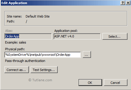 Edit Application Pool in IIS for Web Deploy