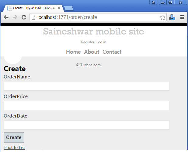 Use jQuery Mobile MVC to Build Mobile Based Application in Asp.Net ...