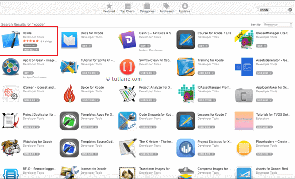 Download xcode from apple app store