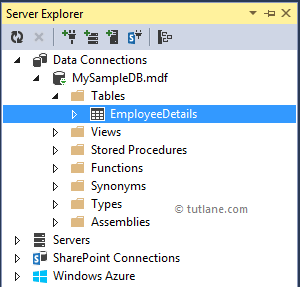 Database with New Table in LINQ to SQL Application