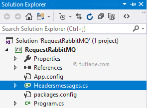 C# Add Class to Publish Messages to RabbitMQ using Headers Exchange
