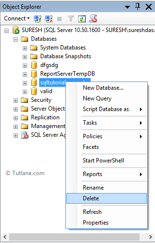 Delete - Remove Duplicate Rows From Table In SQL Server