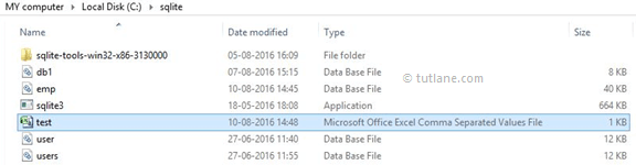 SQLite Import Data from CSV File from Project Folder
